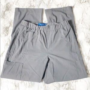 Koi Saphhire Scrub Pants Gray Size Small Petite